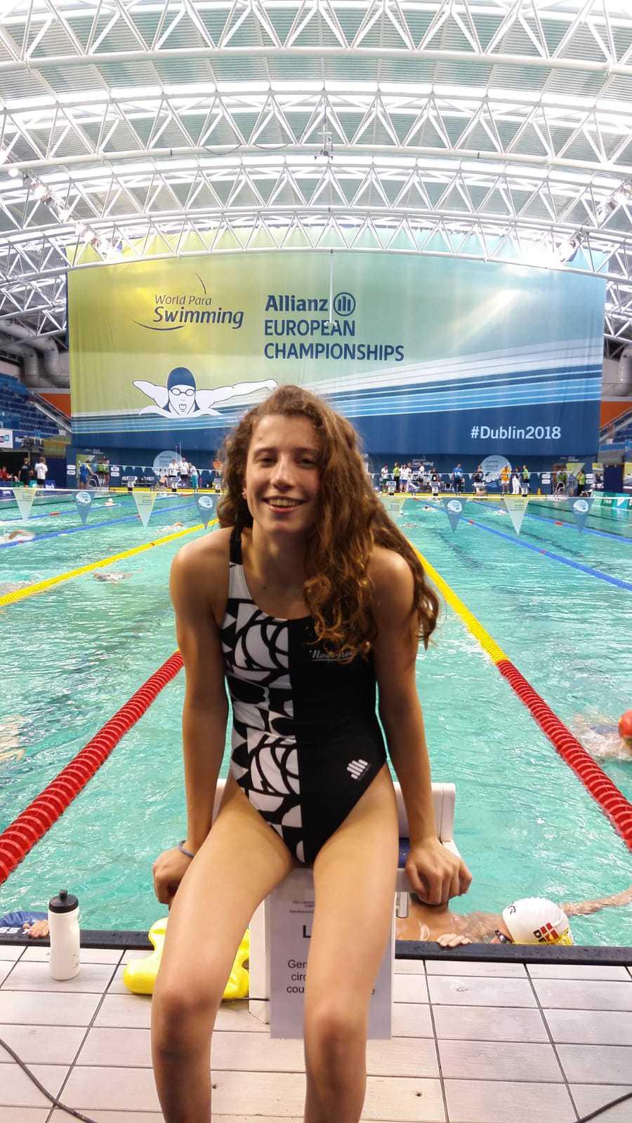 3ª Sesión. Llopis y Nahia nadan 50 libre - Konporta