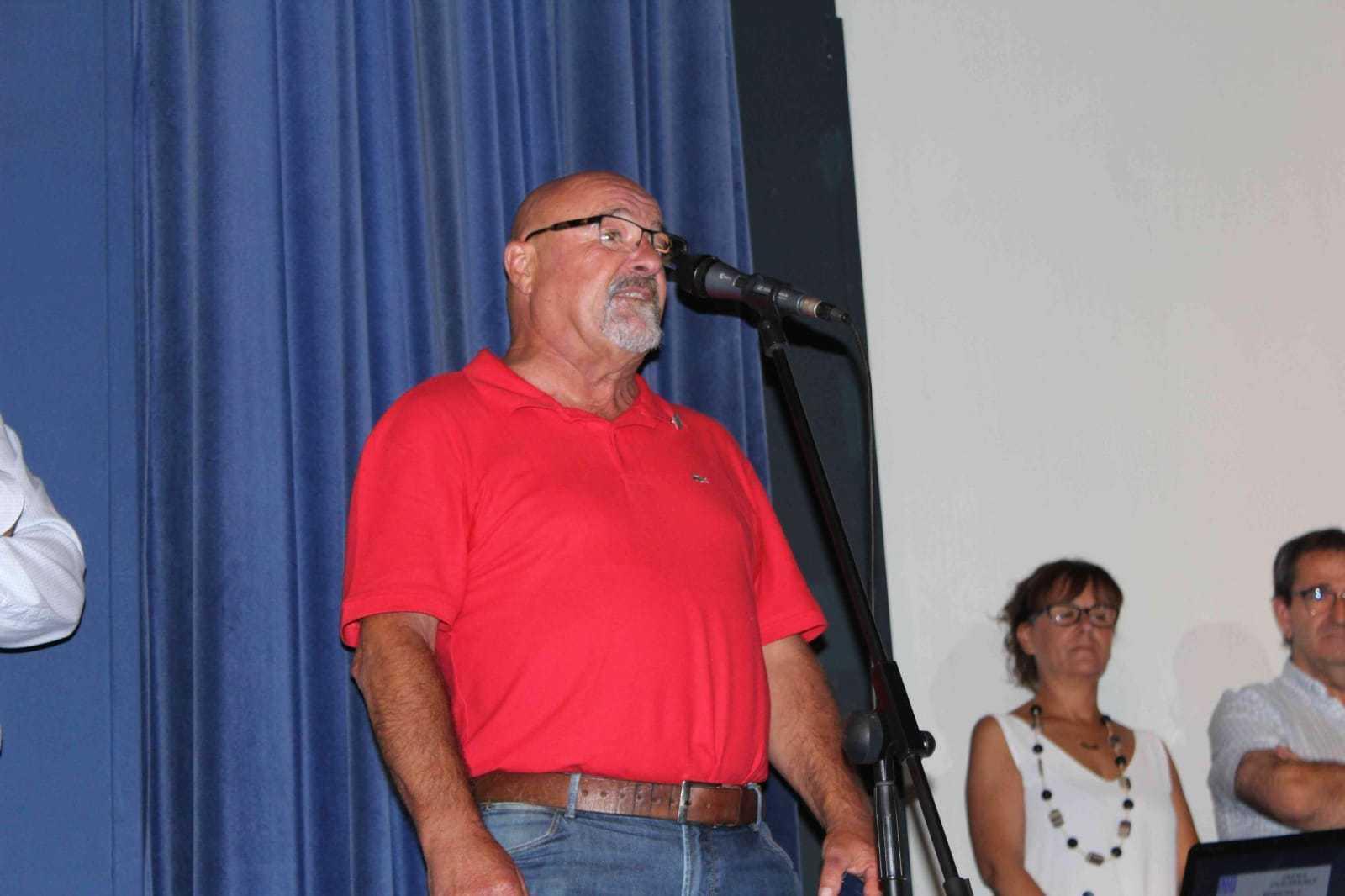 Javier de Aymerichek  GIF-en zilarrezko xafla jaso du - Konporta