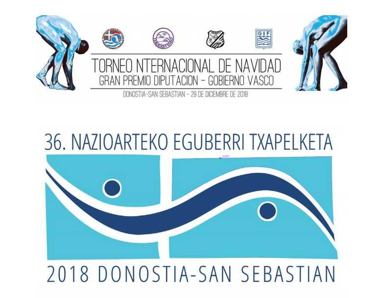GRAN PRESENCIA DE LA NATACIÓN ADAPTADA EN EL 36. TROFEO INTERNACIONAL DE NAVIDAD - Konporta