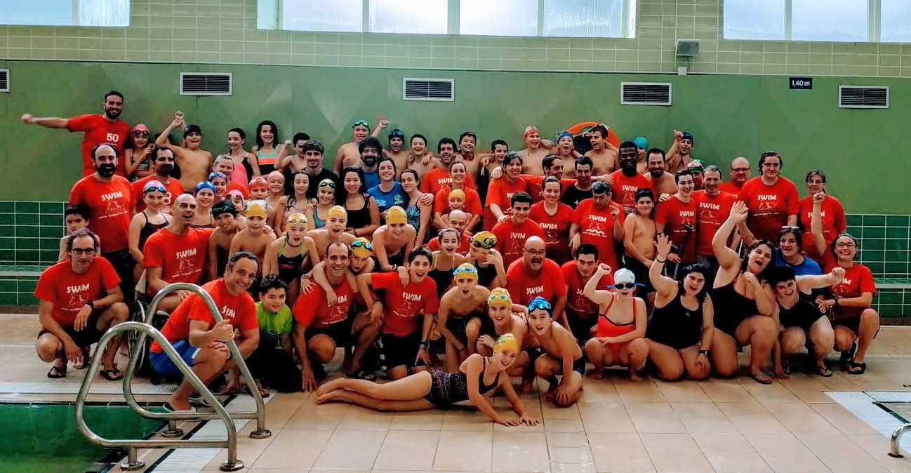 Encuentro Interescolar  Jakintza- Santo Tomas - English School con nadadores de Konporta y Atzegi - Konporta