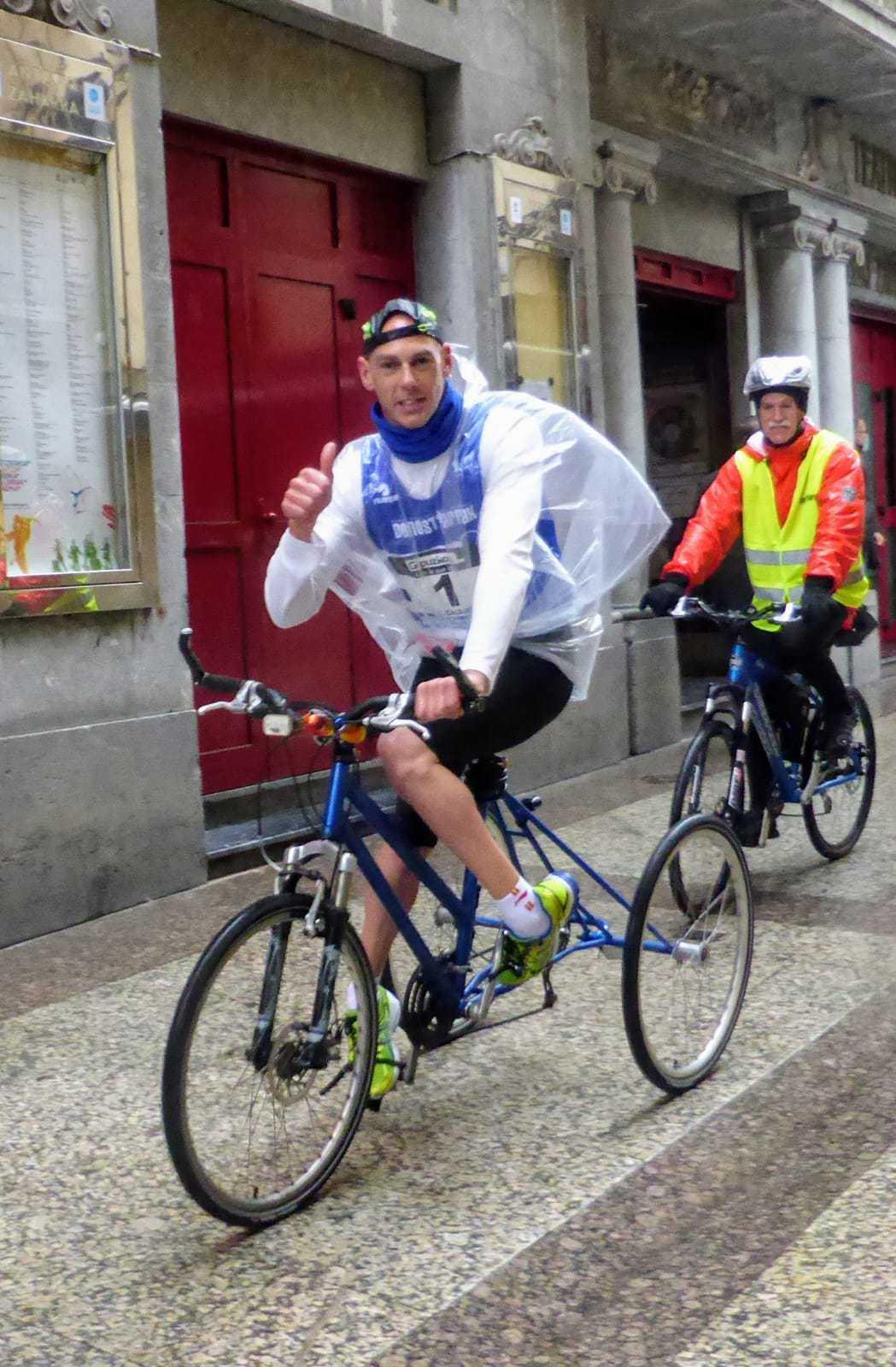 Richard participa en la carrera de 10km. Donostiarrak-UPV - Konporta