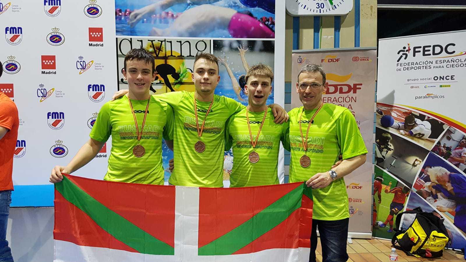 La seleccion de Euskadi de natación acude a Madrid al Campeonato de España de Natación - Konporta