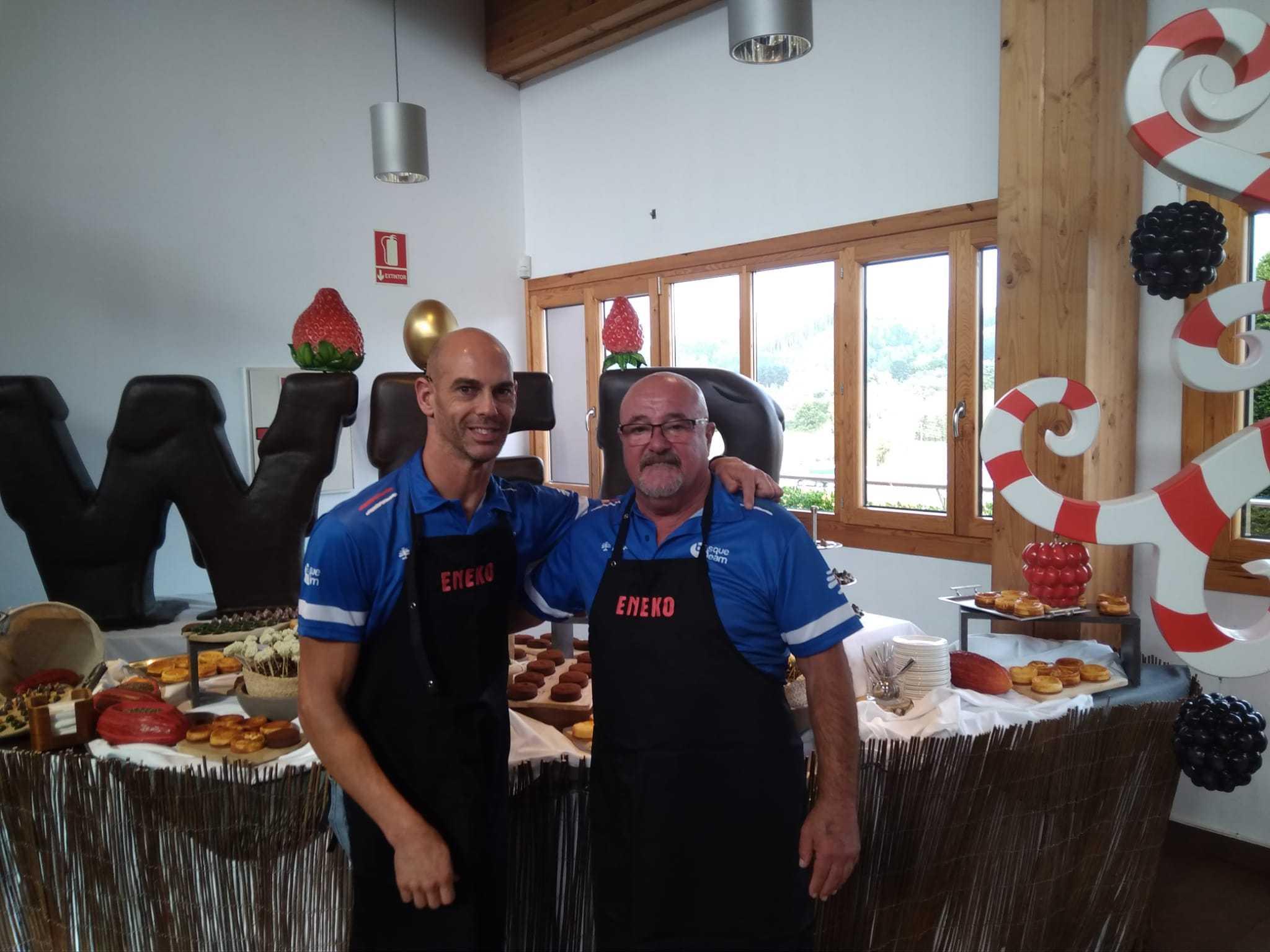 Konporta en el Show cooking - Konporta