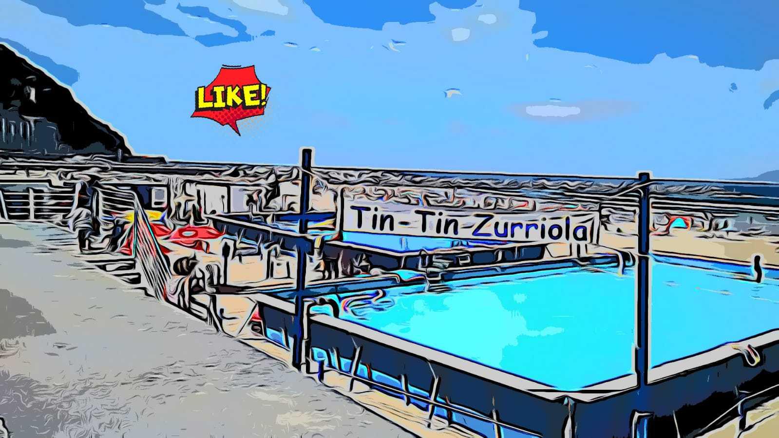 Tintin Zurriola se queda sin  piscina este verano, pero mantiene el bar - Konporta